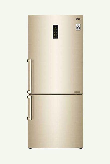 LG GC-B559EVQZ - 499 Liters Double Door Refrigerator (Premium Gold)