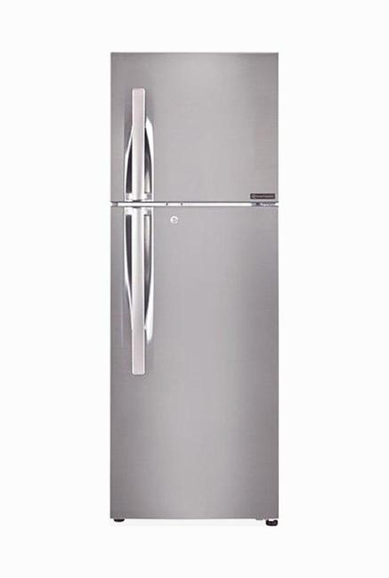 LG GL-F282RPZX 4 Star 255 Liters Double Door Refrigerator (Shiny Steel)
