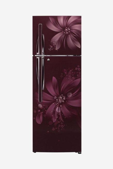 LG GL-I302RSAY 3 Star 284 Liters Double Door Refrigerator (Scarlet Aster)
