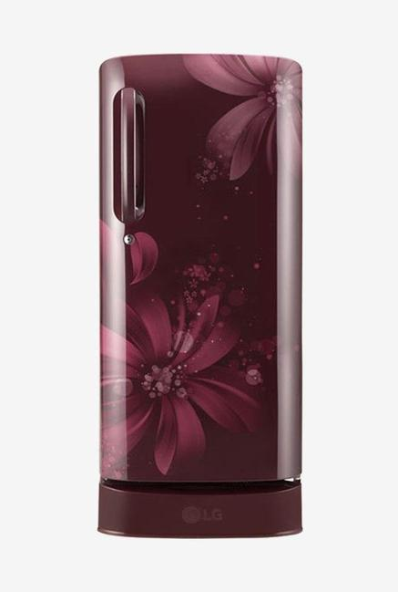 LG GL-D201ASAY 5 Star 190 Liters Single Door Refrigerator (Scarlet Aster)