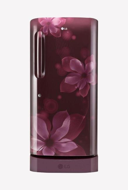 LG GL-D241ASOY 5 Star 235 Liters Single Door Refrigerator (Scarlet Orchid)