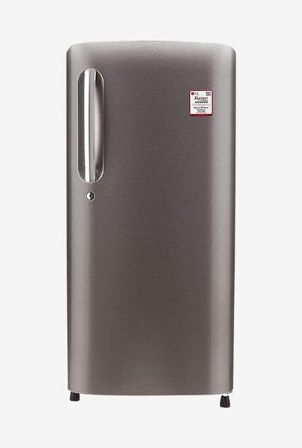 LG GL-B201ADSY 5 Star 190 Liters Single Door Refrigerator (Dazzle Steel)