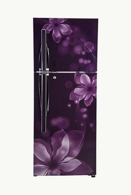 LG GL-F282RPOY 3 Star 255 Liters Double Door Refrigerator (Purple Orchid)