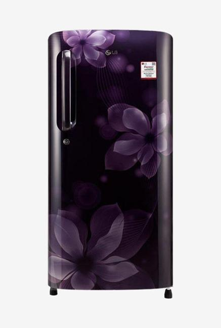LG GL-B201APOY 5 Star 190 Liters Single Door Refrigerator (Purple Orchid)