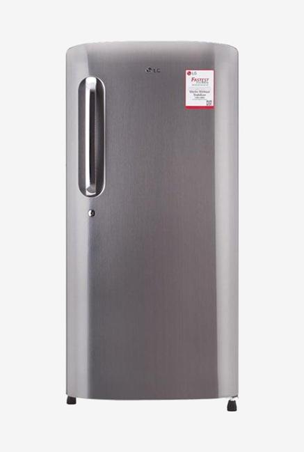 LG GL-B221APZY 5 Star 215 Liters Single Door Refrigerator (Shiny Steel)