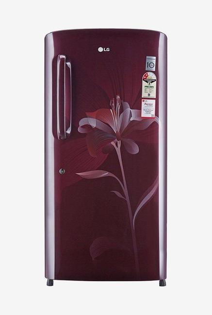LG GL-B221ASLV 2 Star 215 Liters Single Door Refrigerator (Scarlet Lily)