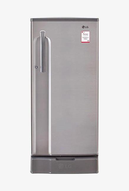 LG GL-D191KPZV 3 Star 188 Liters Single Door Refrigerator (Shiny Steel)