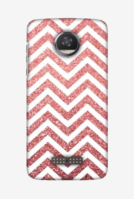 hot sales 8afe2 1cac5 Buy Amzer All that Glitters Chevron Designer Case for Moto Z2 Play ...