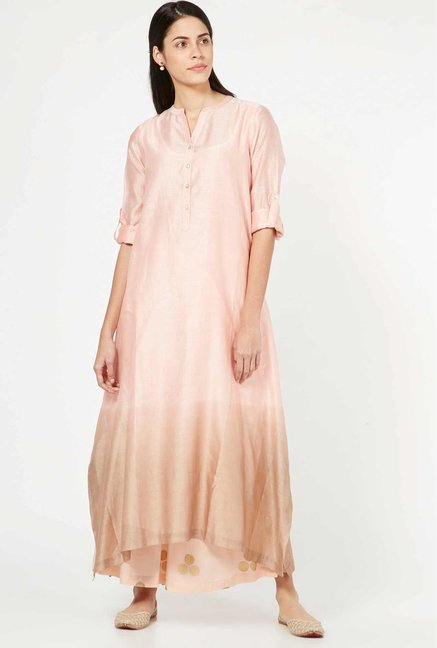 Zuba by Westside Light Pink Palazzos