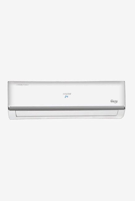 Voltas 1.5 Ton Inverter 5 Star (BEE rating 2018) 185V MZM Copper Split AC (White)
