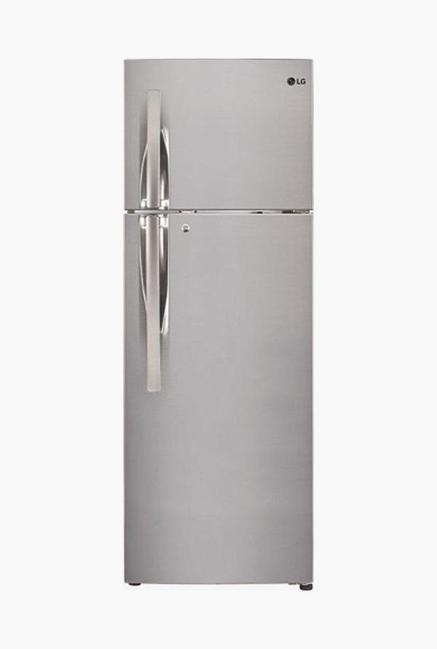 LG GL-T292RPZU 260 L 3 Star Double Door Refrigerator (Shiny Steel)