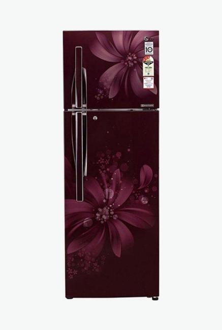 LG GL-C302RSAU 284 L 3 Star Double Door Refrigerator (Scarlet Aster)
