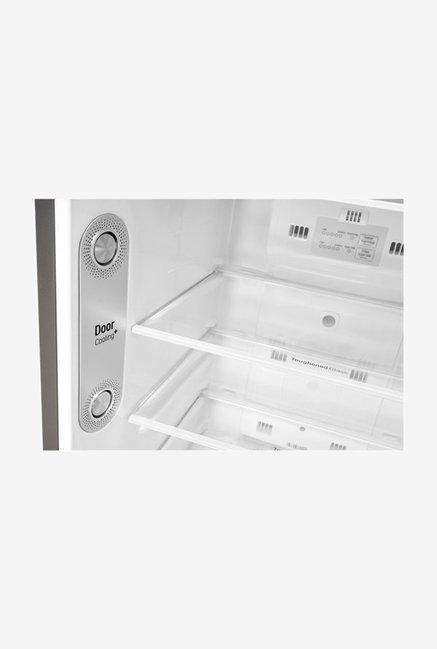 LG 260L 4 Star  2019  Frost Free Double Door Refrigerator  Shiny Steel, GL T292RPZN