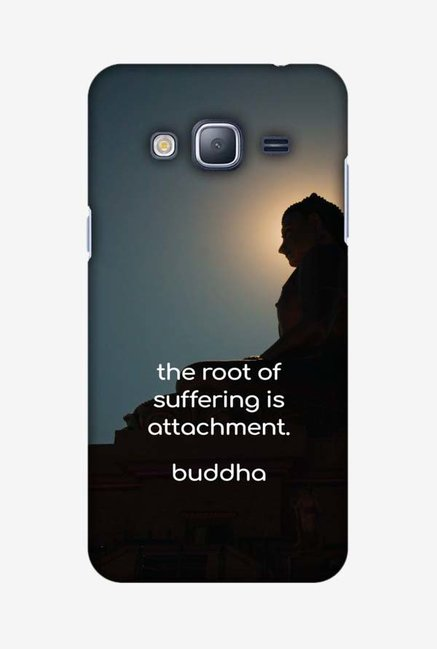 Buy Amzer Buddha Quotes 5 Hard Shell Designer Case for Samsung J3