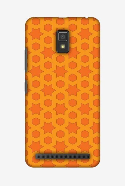 huge discount 1c448 35af9 Buy Amzer Geometric Flowers Hard Designer Case for Lenovo A6600 ...