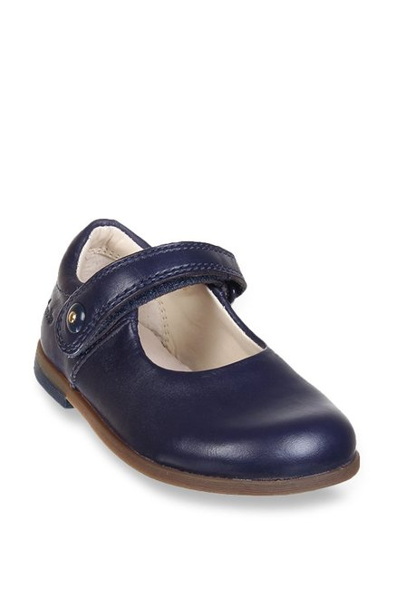 c19767f53e5 Buy Clarks Bonnie Boo FST Navy Mary Jane Shoes for Girls at Best ...