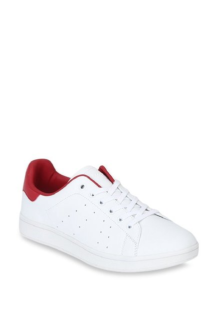5e9a094f Buy Lee Cooper White & Red Sneakers for Women at Best Price @ Tata CLiQ