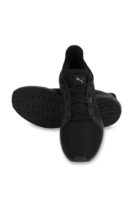 856a54d04c0 Buy Puma Mega NRGY Turbo 2 Black Running Shoes for Men at Best Price ...