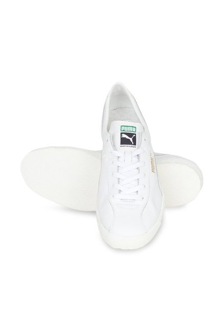 outlet store 5a4f7 fe63f Buy Puma Basket Classic Sock Lo White Sneakers for Men at ...