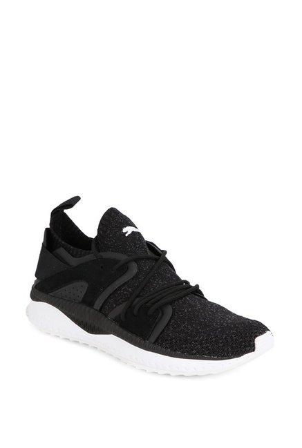 5cb913e555bb31 Buy Puma TSUGI Blaze evoKNIT Black Running Shoes for Men at Best Price    Tata CLiQ