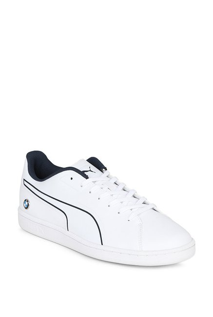 0027f660bcc Buy Puma BMW MS Court S White   Team Blue Sneakers for Men at Best Price    Tata CLiQ