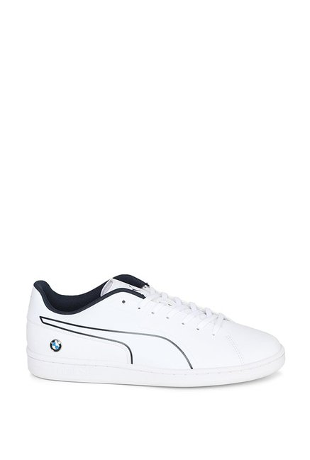 8f26286157a261 Buy Puma BMW MS Court S White   Team Blue Sneakers for Men at Best ...