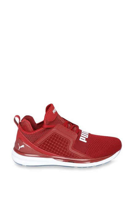 ca80877915e Buy Puma Ignite Limitless Weave Red Dahlia Running Shoes for Men at ...