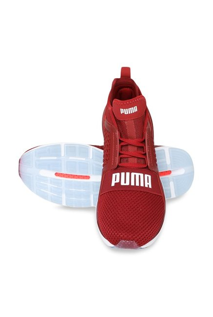 the latest 4f0af a3294 Buy Puma Ignite Limitless Weave Red Dahlia Running Shoes for ...