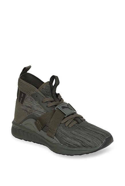 the best attitude 2a4f1 d5763 Buy Puma Ignite evoKNIT 2 Forest Night & Grey Running Shoes ...