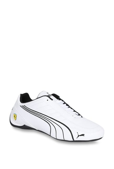 Buy Puma Ferrari SF Future Kart Cat White Sneakers for Men at Best Price    Tata CLiQ 2c254ecf9