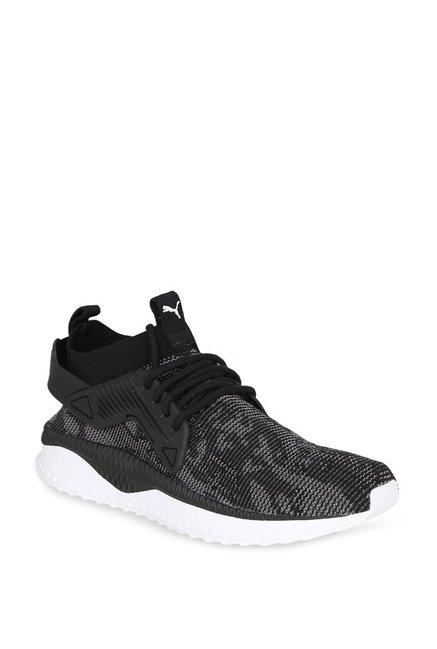 Buy Puma TSUGI Cage evoKNIT WF Black Sneakers for Men at Best Price   Tata  CLiQ 252df4f4e