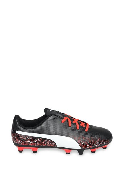 7b2ce920 Buy Puma Truora FG Jr Black & White Football Shoes for Boys at Best ...