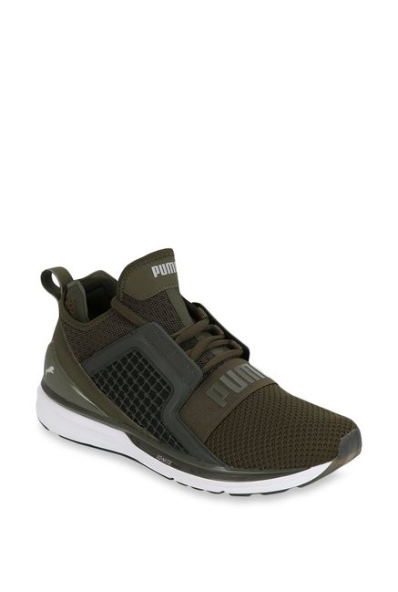 Buy Puma Ignite Limitless Weave Forest Night Running Shoes for Men ... a9d74040e