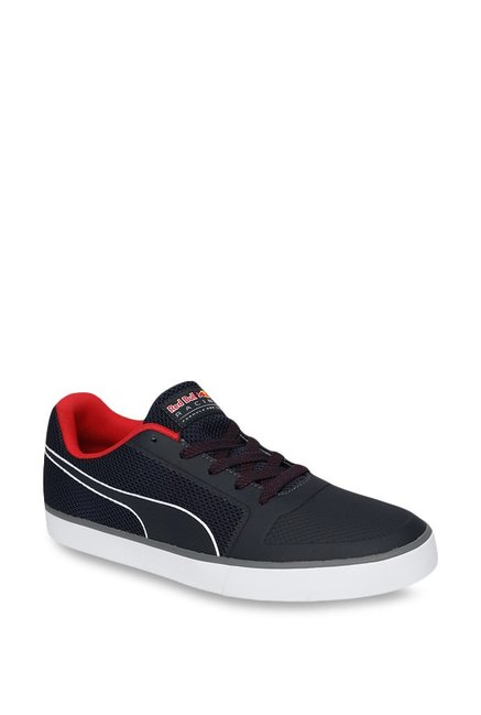 huge selection of f4d4f bb52a Buy Puma Red Bull RBR Wings Vulc Night Sky & Red Sneakers ...