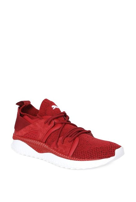 f3eb656bb74f Buy Puma TSUGI Blaze evoKNIT Red Dahlia Running Shoes for Men at Best Price    Tata CLiQ
