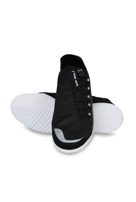 83ca7b0366d8e4 Buy Puma Ferrari SF F Cat Ignite Black Sneakers for Men at Best ...