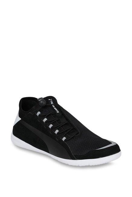 9b4363c5bc2871 Buy Puma Ferrari SF F Cat Ignite Black Sneakers for Men at Best Price    Tata CLiQ