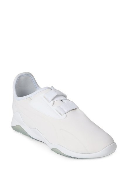 b6833b2654936b Buy Puma Mostro Core Tex White Sneakers for Men at Best Price   Tata CLiQ