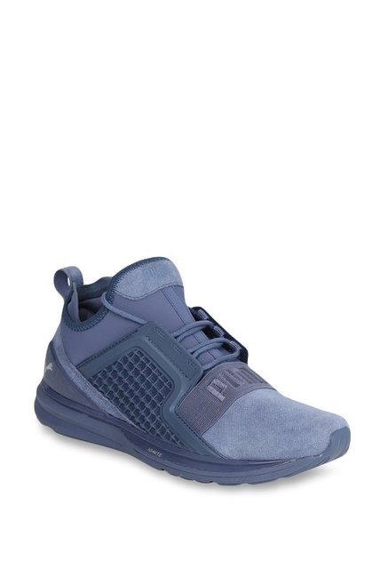 Buy Puma Ignite Limitless Blue Indigo Running Shoes for Men at Best ... 99c171e66