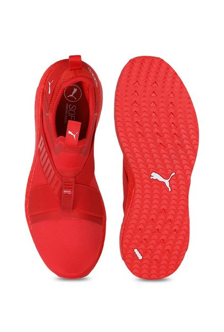 fb91585576b48c Buy Puma Mega NRGY X High Risk Red Running Shoes for Men at Best ...