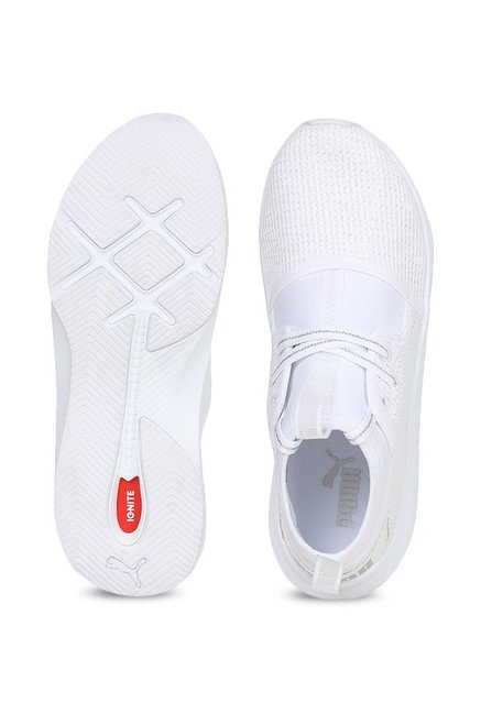 Buy Puma Phenom Low EP White Sneakers for Women at Best Price   Tata ... b0a552cc7