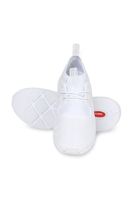 15ecf37e28d Buy Puma Phenom Low EP White Sneakers for Women at Best Price   Tata ...