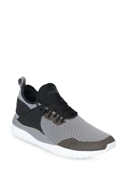 6ad06864837283 Buy Puma Pacer Next Cage GK White   Black Training Shoes for Men at Best  Price   Tata CLiQ