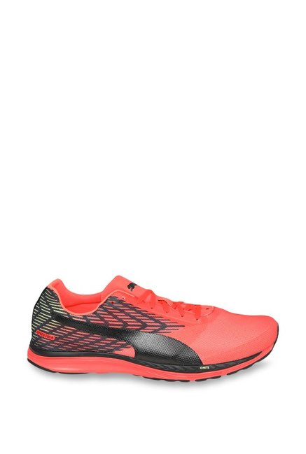 Buy Puma Speed 100 R Ignite 2 Red Blast   Black Running Shoes for ... 86803d17e