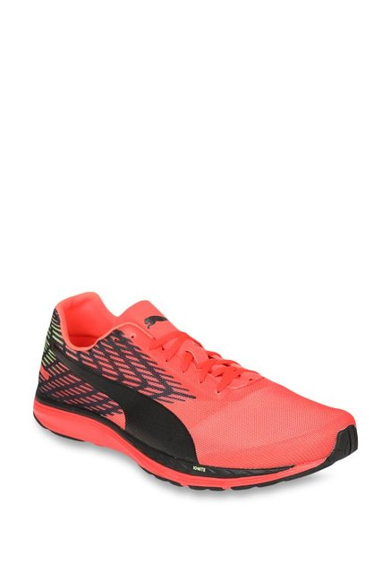 Buy Puma Speed 100 R Ignite 2 Red Blast   Black Running Shoes for Men at Best  Price   Tata CLiQ c1025aa27