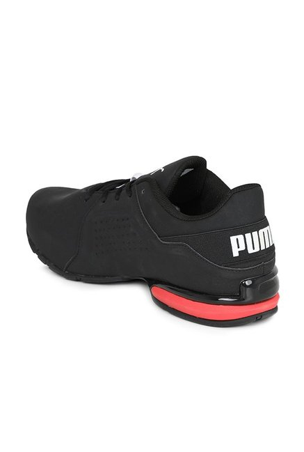 f9498161aec6 Buy Puma Viz Runner Black   White Running Shoes for Men at Best ...