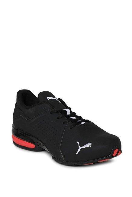 Buy Puma Viz Runner Black \u0026 White