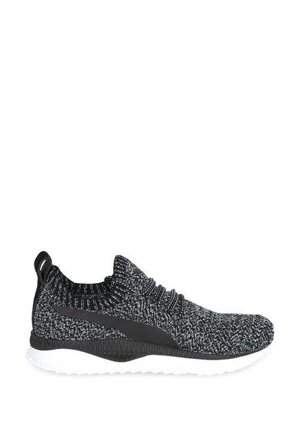 Buy Puma TSUGI Apex evoKNIT Black   Aquifer Running Shoes for Men at ... ae9b15fba