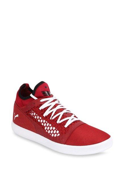 Buy Puma 365 Netfit Lite Red Dahlia   White Football Shoes for Men ... bc37838c9