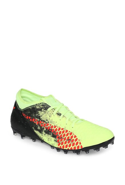 5f0a67bde Buy Puma Future 18.4 MG Fizzy Yellow & Black Football Shoes for ...